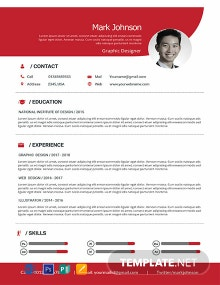 Free Graphic Designer Resume