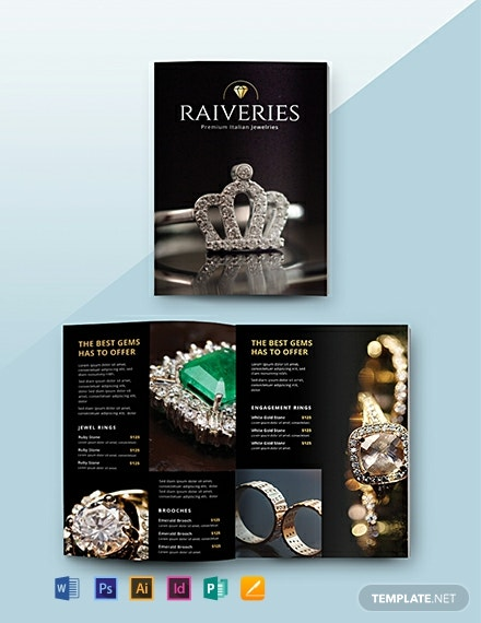 Free Jewelry Catalog Template
