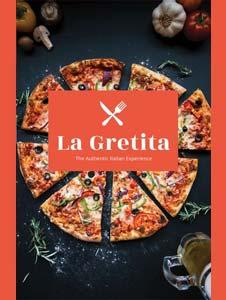 Free Restaurant Catalog Template