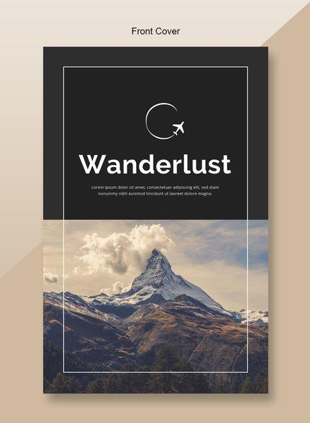 Free Travel Catalog Template