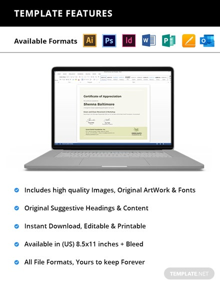 Modern Certificate Printable