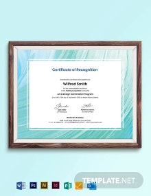 Creative Painting Award Certificate Template
