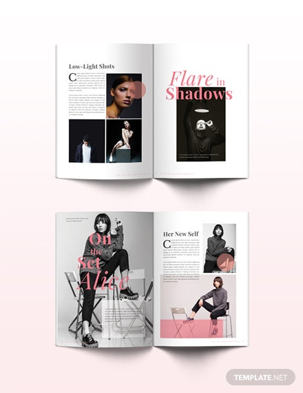 free studio lookbook magazine template download 36 magazines in