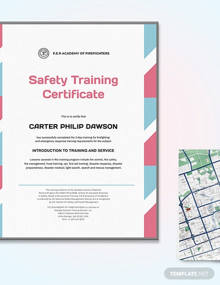 Final Fire Safety Certificate Download