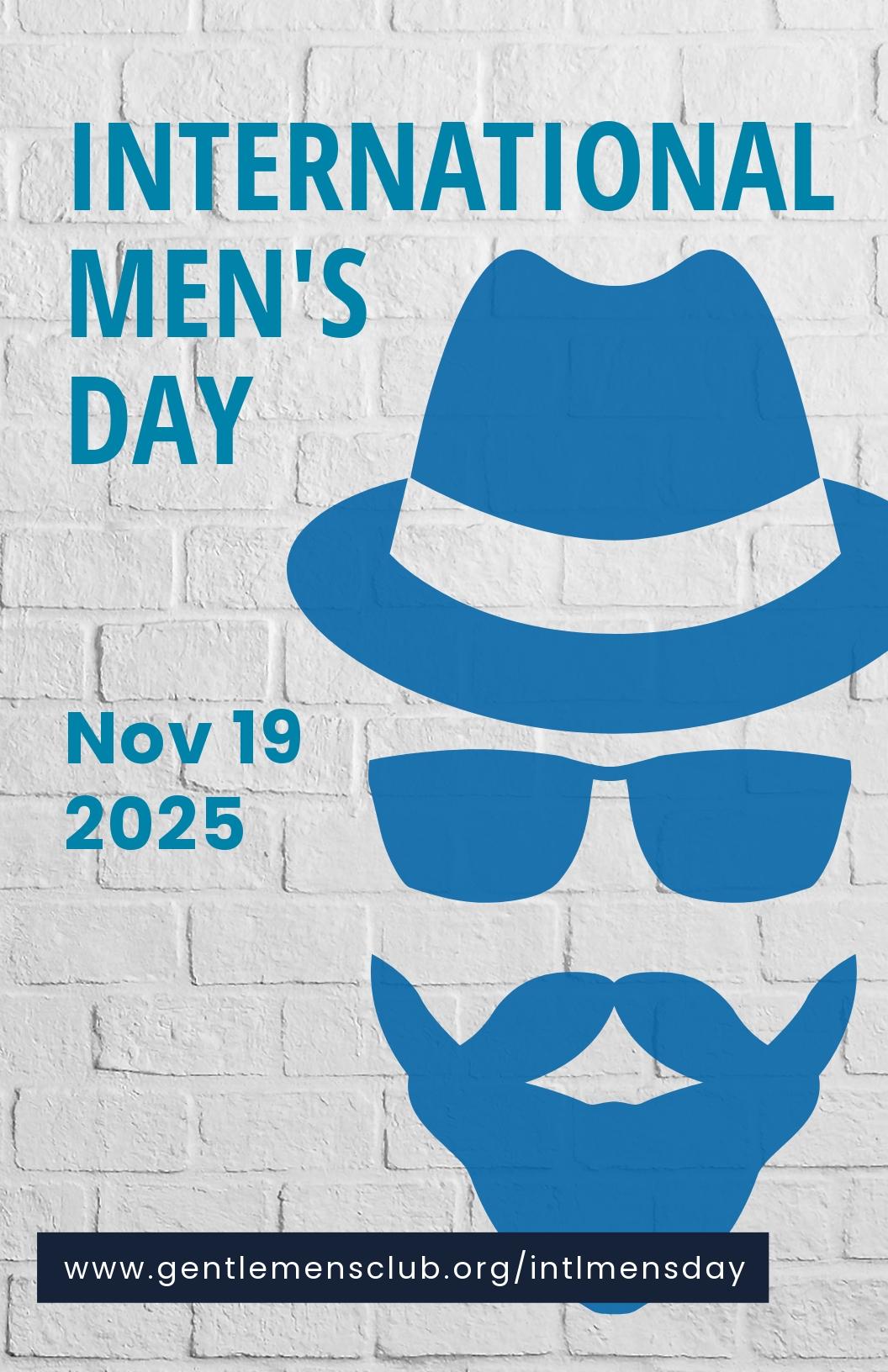 International Men's Day Poster