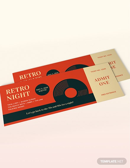 Retro Ticket Download