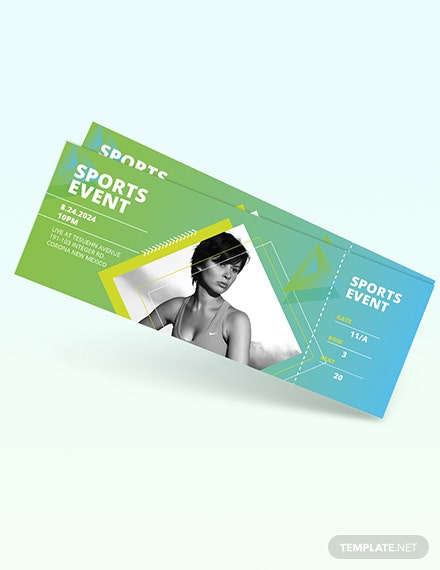 Sporting Event Ticket Download