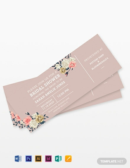 image about Printable Pottery Templates known as Obtain Printable Ticket Templates within Term PSD