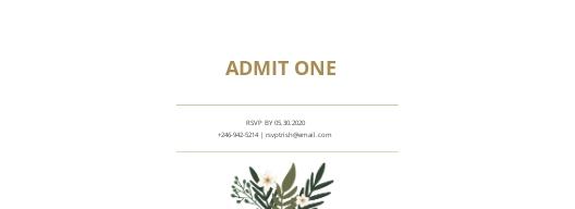 Wedding Invitation Ticket Template 1.jpe