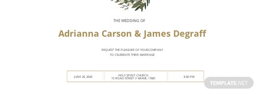 Wedding Invitation Ticket Template.jpe