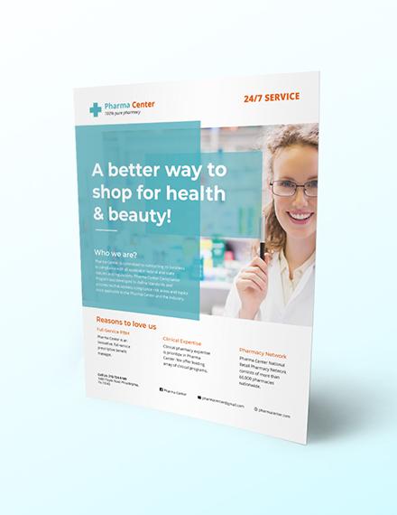 Pharmacy Flyer Download