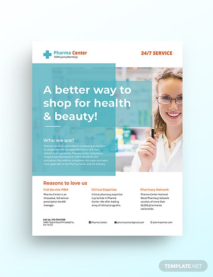 12  free word health flyer templates