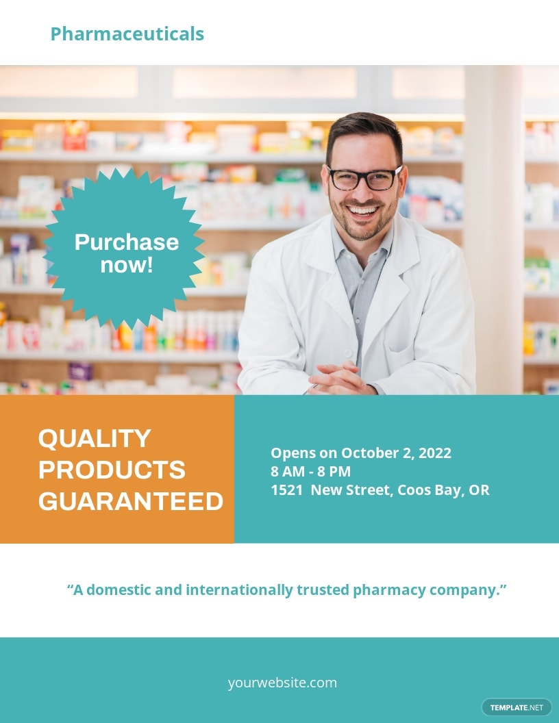Pharmacy Flyer Template
