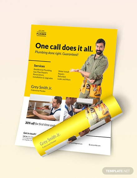 Plumber Flyer Download