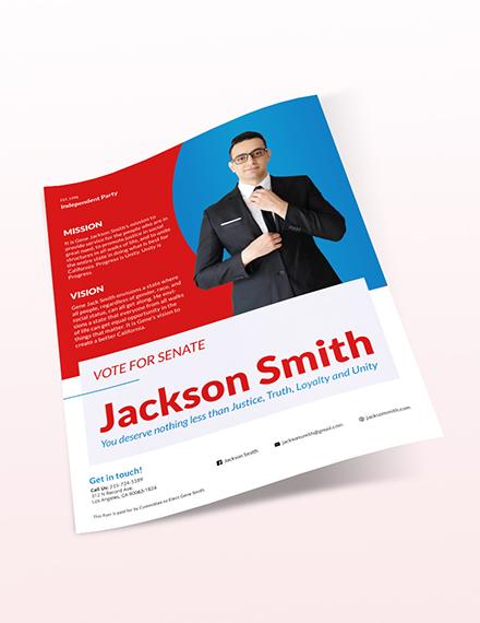 Political Flyer Download