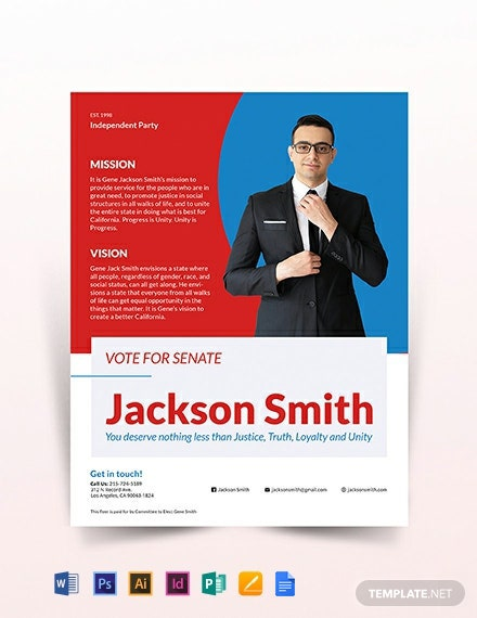 Political Flyer Template