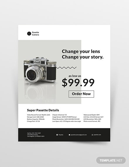 Product Flyer Template