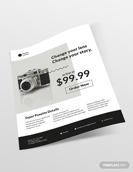 Sample Product Flyer