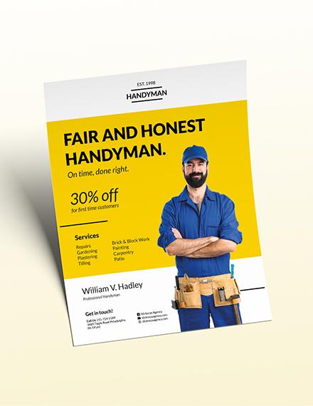 Handyman Flyer Download