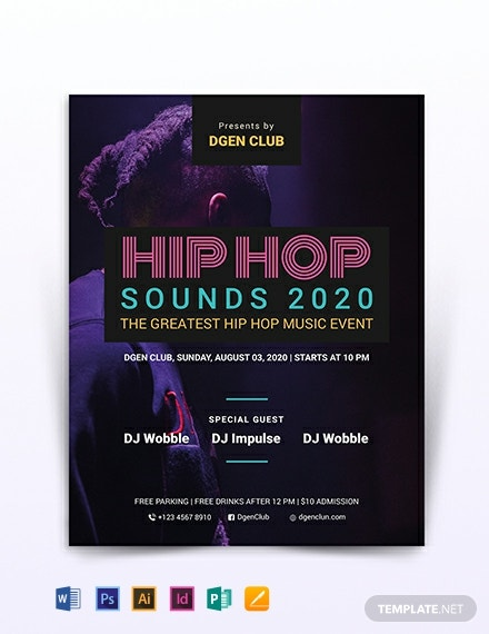 Hip-hop Flyer Template