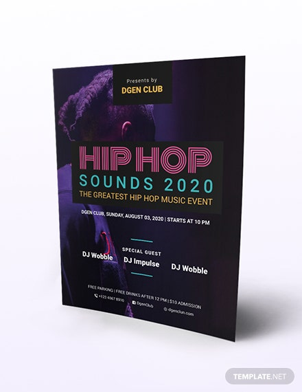 Hiphop Flyer Download