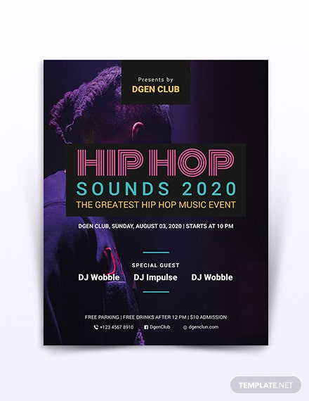 Hip-hop Flyer Template