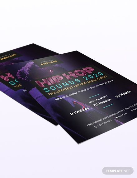 Sample Hiphop Flyer