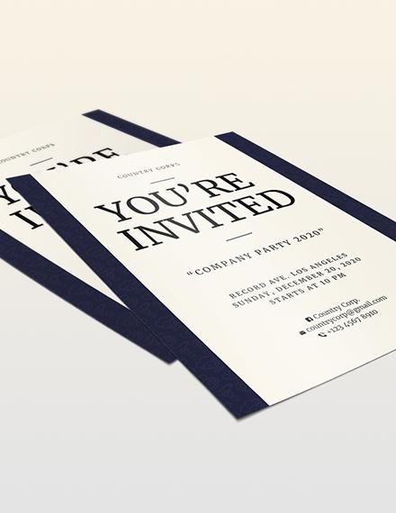 Invitation Flyer Download