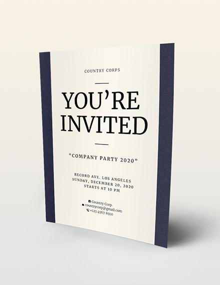 Sample Invitation Flyer