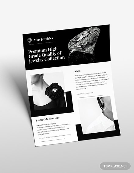 Jewelry Flyer Download