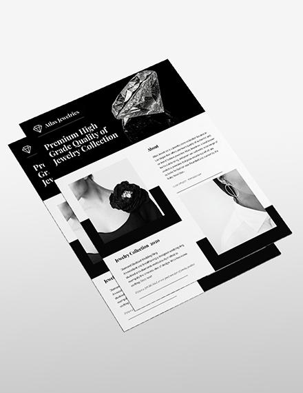 Sample Jewelry Flyer