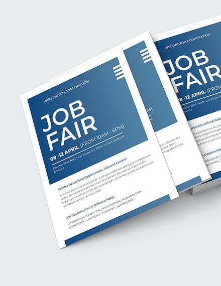 Job Fair Flyer Download