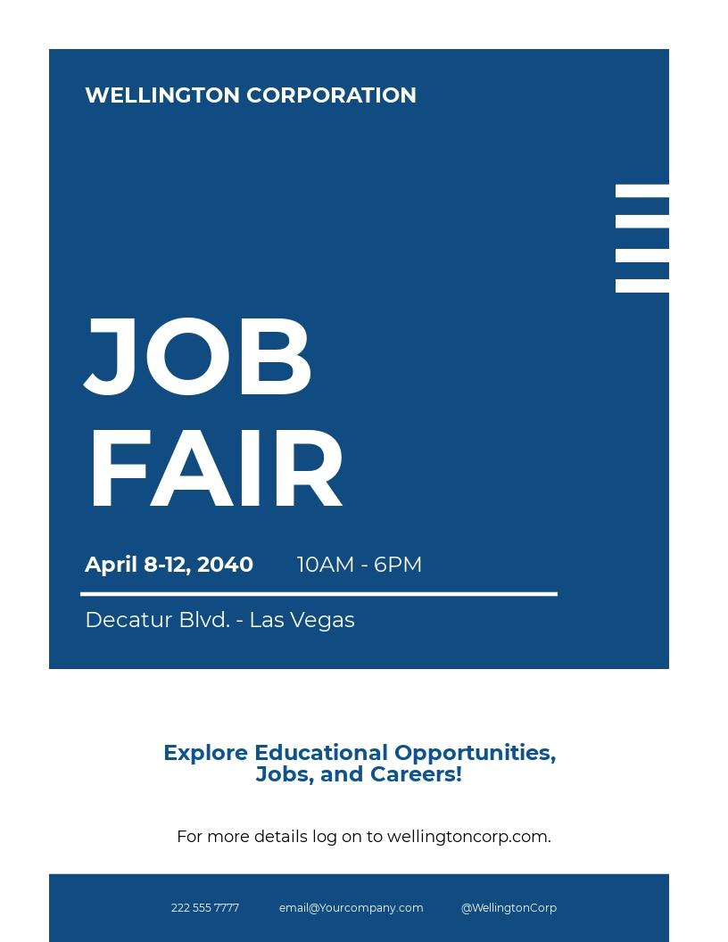 Job Fair Flyer Template.jpe