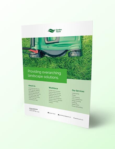 Landscaping Flyer Download