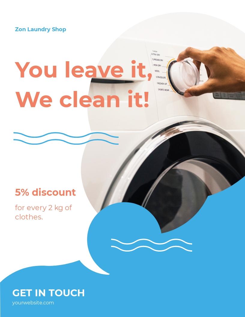 Laundry Flyer Template.jpe