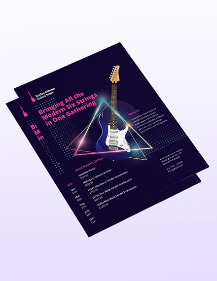 Sample Modern Business Flyer