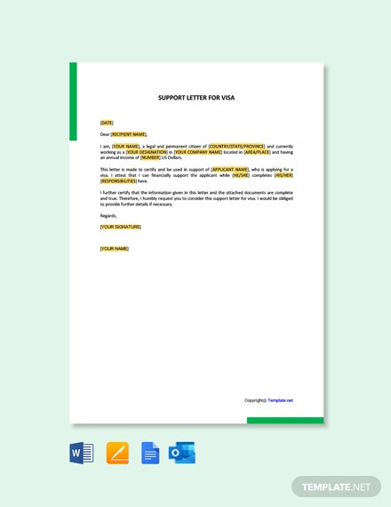 Affidavit Letter Sample from images.template.net