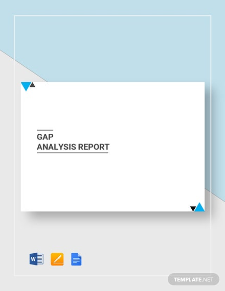 gap analysis report 2