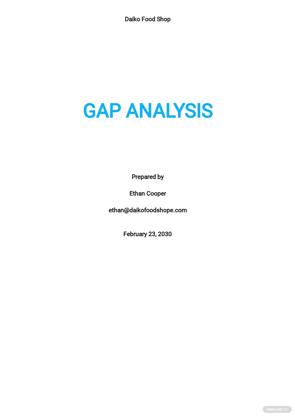 Gap Analysis Report Template.jpe