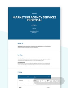 Agency Proposal Template