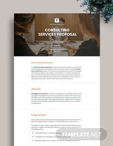 Consulting Services Proposal Template