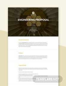 Engineering Proposal Template
