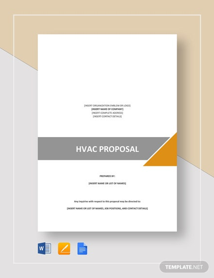 HVAC Proposal Template