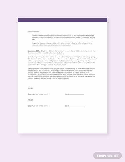 Free-Letter-Template-of-Intent-for-Real-Estate