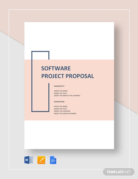 Software Project Proposal Template - Word | Google Docs