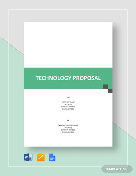 Technology Proposal Template