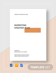 Marketing Strategy Plan Template