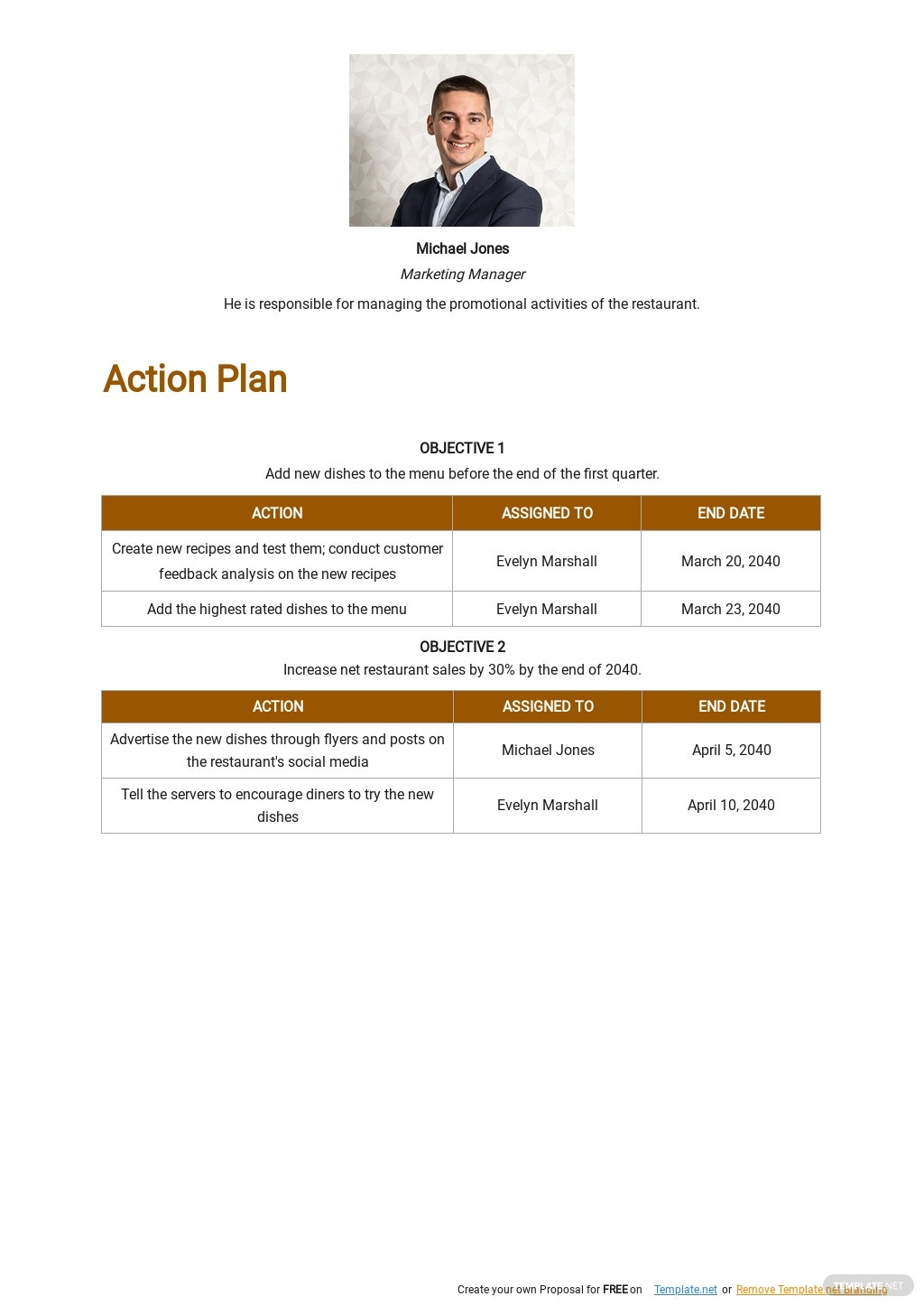 One Page Strategic Action Plan Template 2.jpe