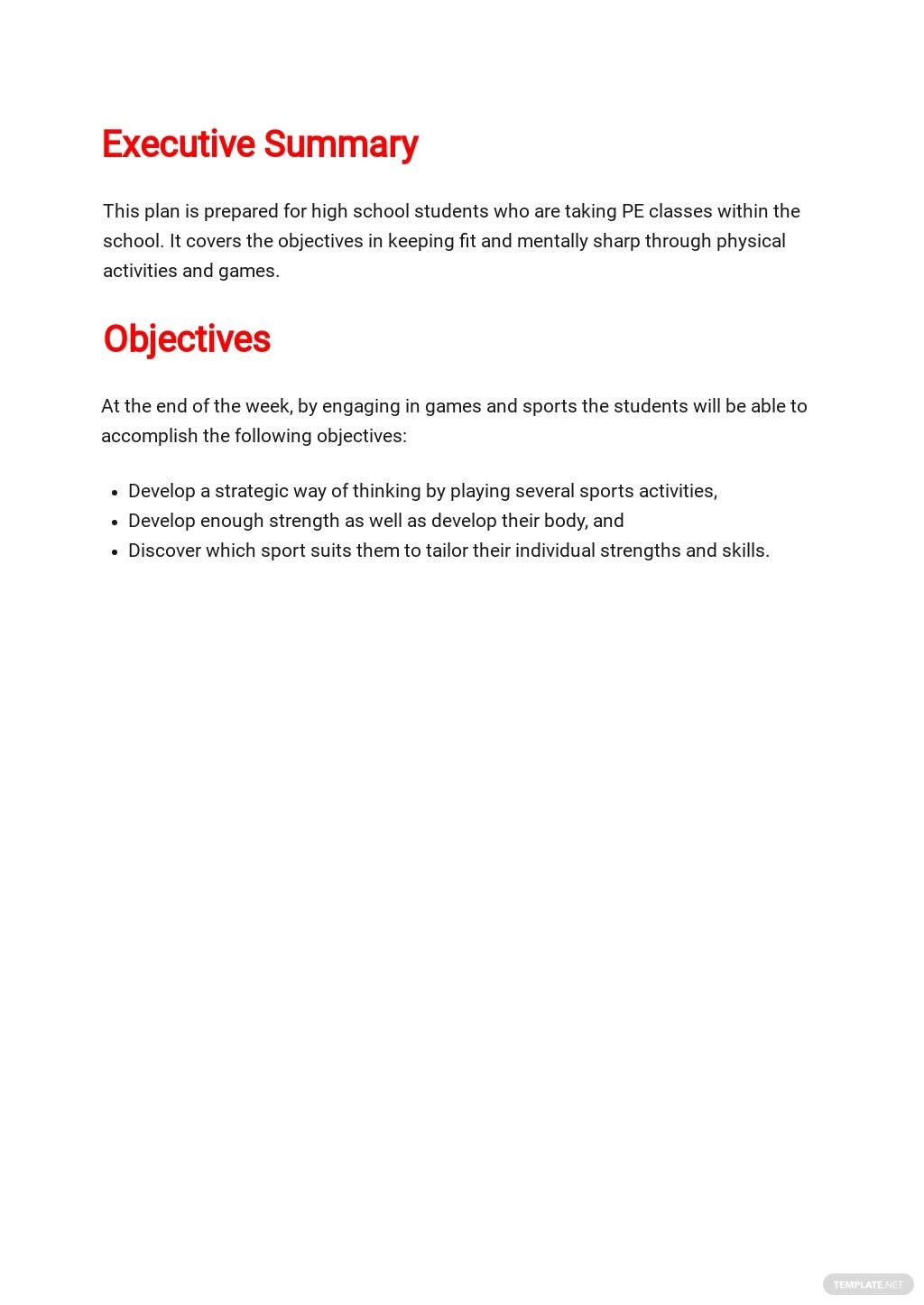 Physical Education Lesson Plan Template 1.jpe