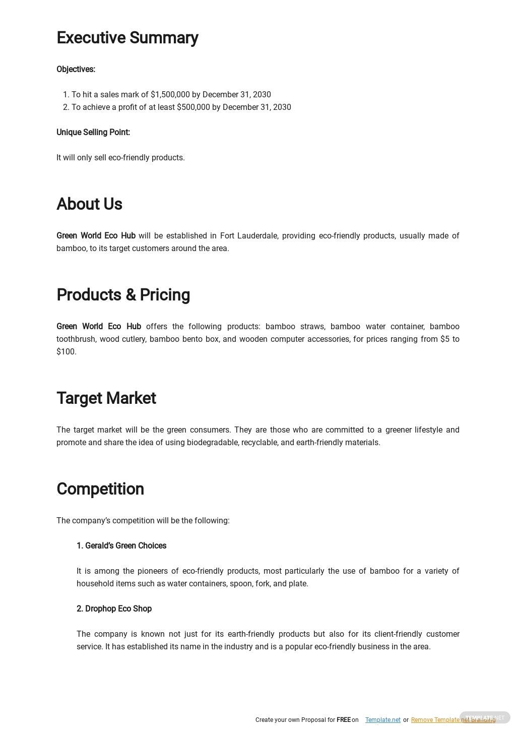 Product Business Plan Template 1.jpe